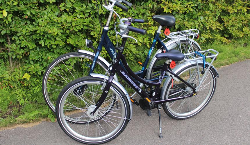 A child's bike